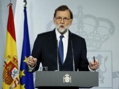 Il primo ministro Mariano Rajoy, presidente del Partito Popolare, in carica dal 2011
